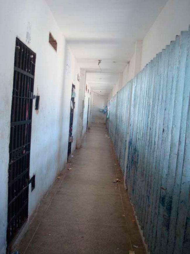 Corredor da Penitenciária Estadual de Alcaçuz em Natal