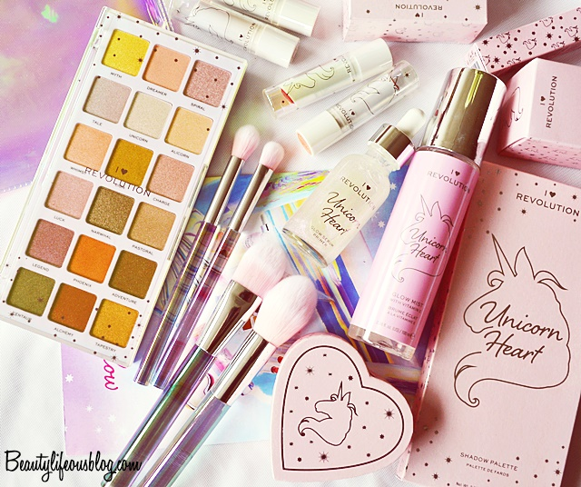 I Heart Revolution - Unicorn Heart Collection [Review]