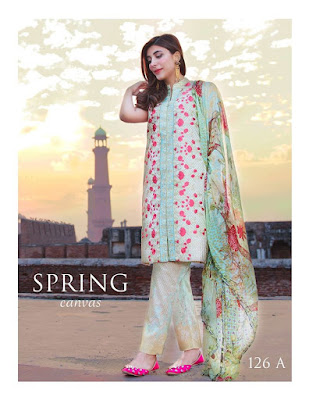Rang Rasiya stylish lawn prints designs 2017