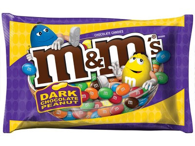dark chocolate peanut m&ms amazon