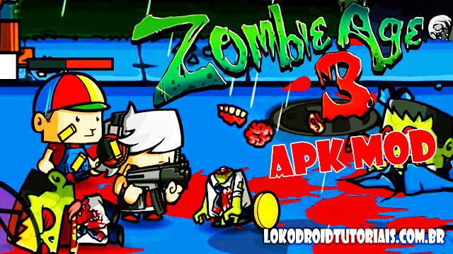 Jogo de zombi APK MOD MONEY