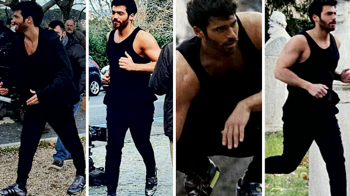 How the most wanted man trains#canyaman