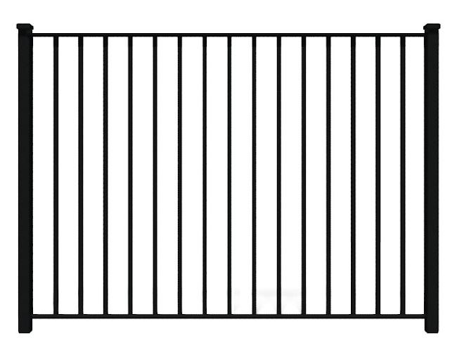 ukuran tinggi pagar besi minimalis