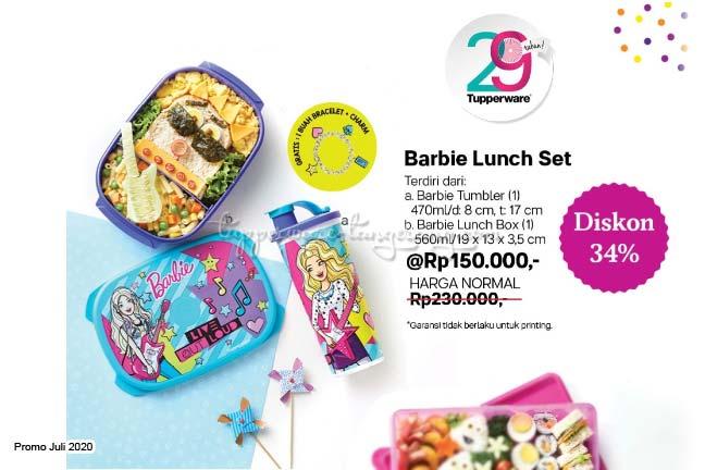 Lunch box, Lunch Set, Promo Tupperware Juli 2020, tempat aneka snack, Tempat Makan/bekal