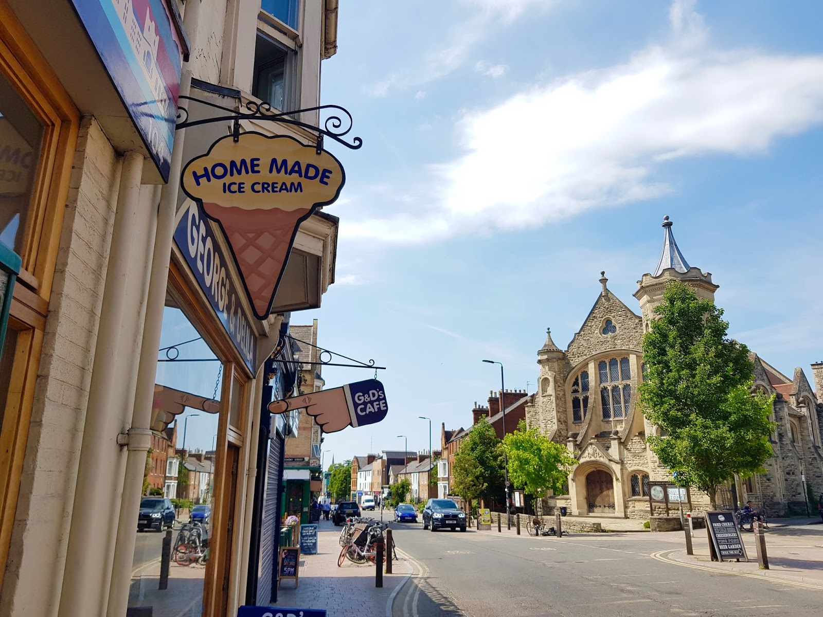 oxford travel local visit tourist cowley road G&D ice cream