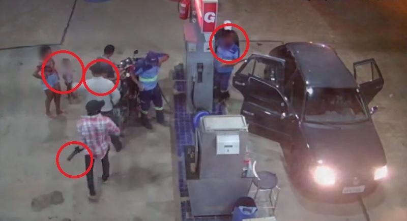 Quadrilha armada assalta posto de combustíveis na zona rural de Juazeiro (BA) - Portal Spy Notícias de Juazeiro e Petrolina 2