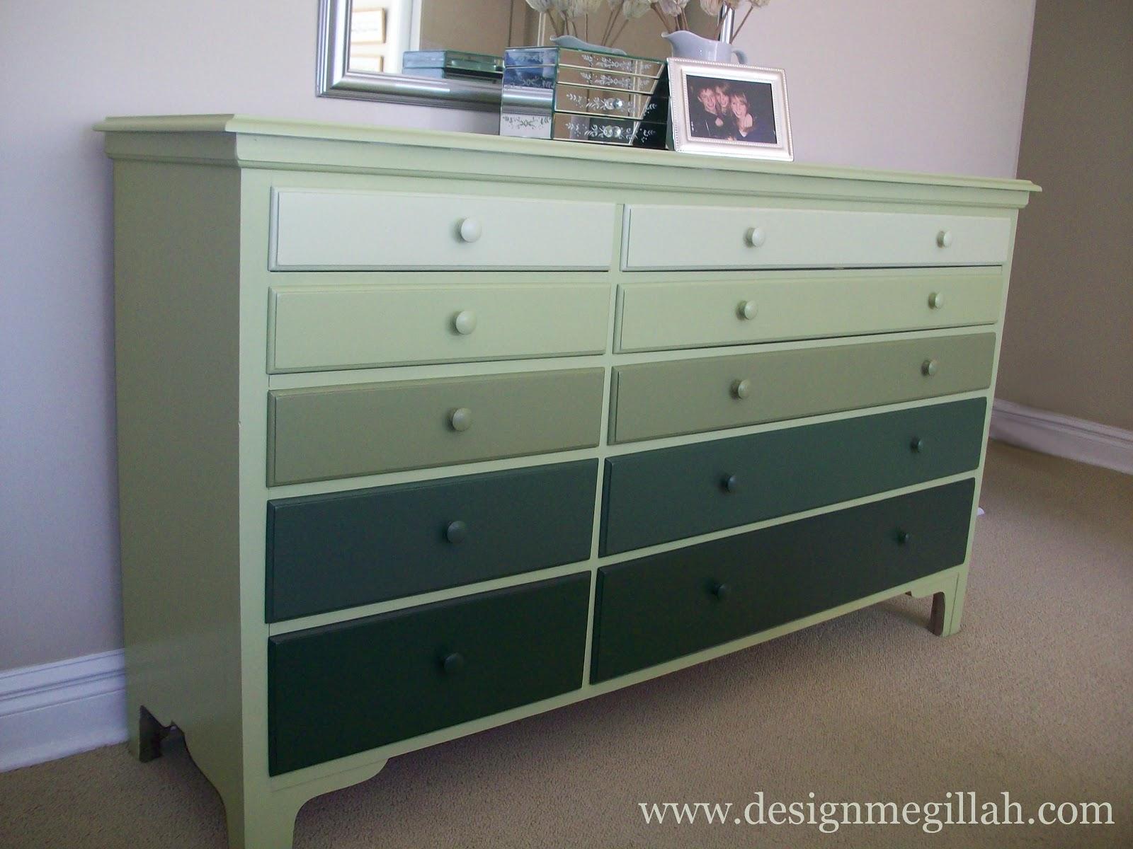 Design Megillah An Ombre Dresser