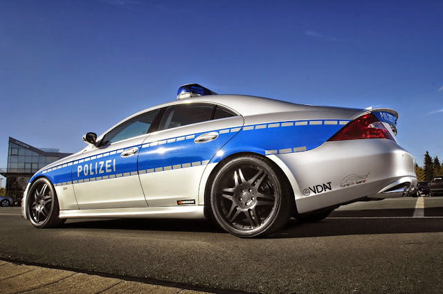 mercedes w219 police