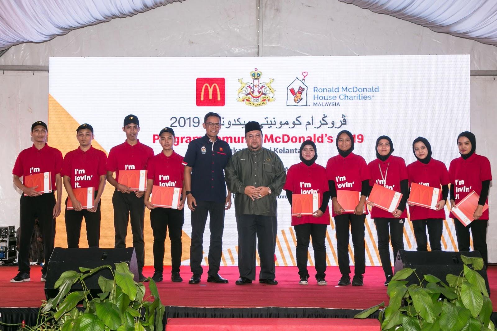 Program Komuniti McDonald's Menyantuni Rakyat Kelantan