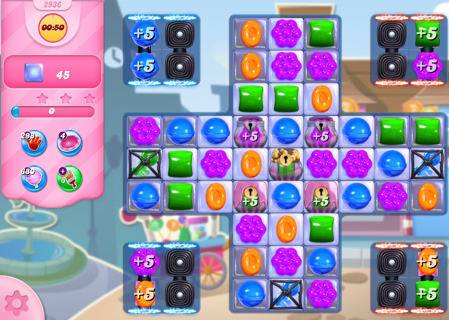 Candy Crush Saga level 2936
