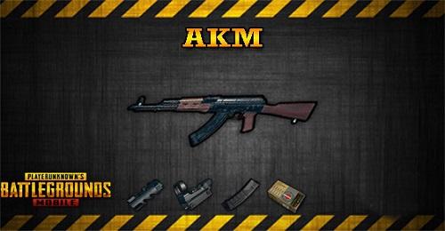 AKM là khẩu súng trường công kích phổ biến chỉ trong hầu như mọi chế độ bắn súng. trong vòng PUBG, AKM cũng là 1 khẩu súng được cần đến liên tiếp nhất