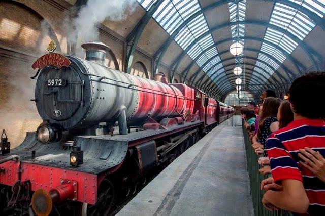 Harry Potter - Trem Expresso de Hogwarts em Orlando