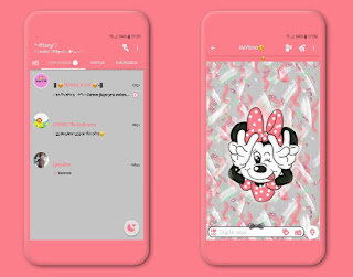 Minnie Theme For YOWhatsApp & Fouad WhatsApp By Mary Silva