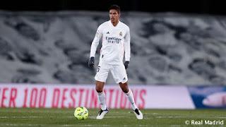 Raphael Varane sigue sumando récords con el Real Madrid