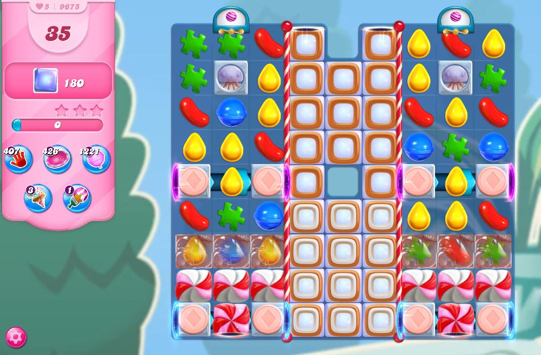 Candy Crush Saga level 9675