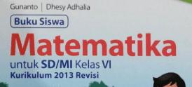 Materi Volume Bangun Ruang Kelas 6 Kurikulum 2013 Revisi 2018