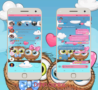 Owl Cutes Theme For YOWhatsApp & Fouad WhatsApp By Driih Santos