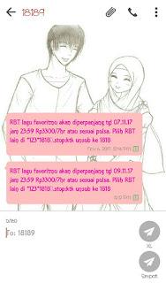 Cara Berhenti/Stop RBT XL Yang Tiba2 Aktif