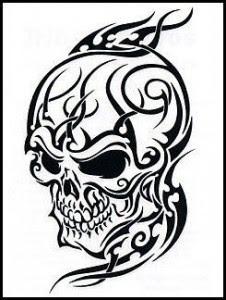 skull tattoo for women and men