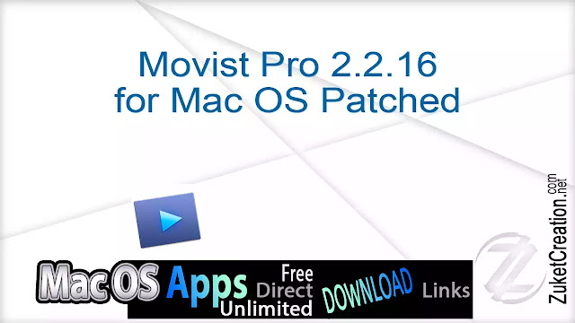 Movist Pro 2.2.16 for Mac OS Patched