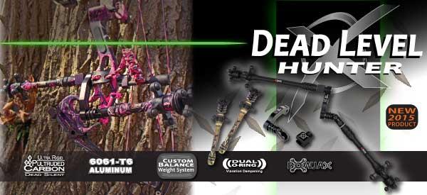 Les Stabilisations Dead Center Archery - La gamme Diamond Series Level