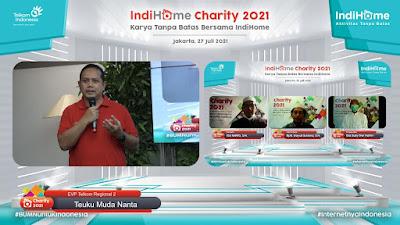 Indihome Alokasikan Bantuan  Rp 420 Juta  bagi Masyarakat Terpapar Covid-19