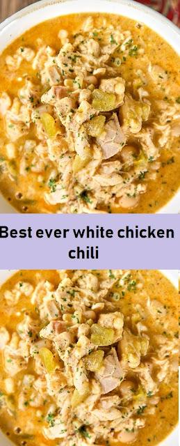 Best ever white chicken chili s