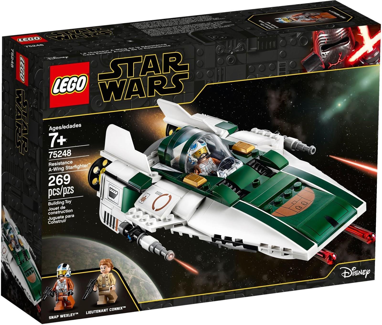 LEGO 75248 レジスタンス・Aウィング・スターファイター