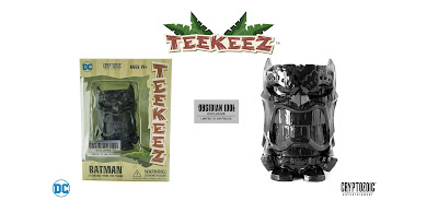 San Diego Comic-Con 2018 Exclusive Batman Obsidian Idol DC Teekeez Vinyl Figure by Cryptozoic Entertainment