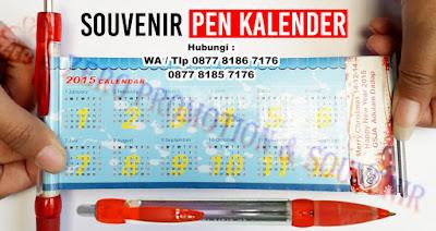 pulpen kalender, pen kalender murah, pen promosi, bolpoin promosi di tangerang dengan harga termurah