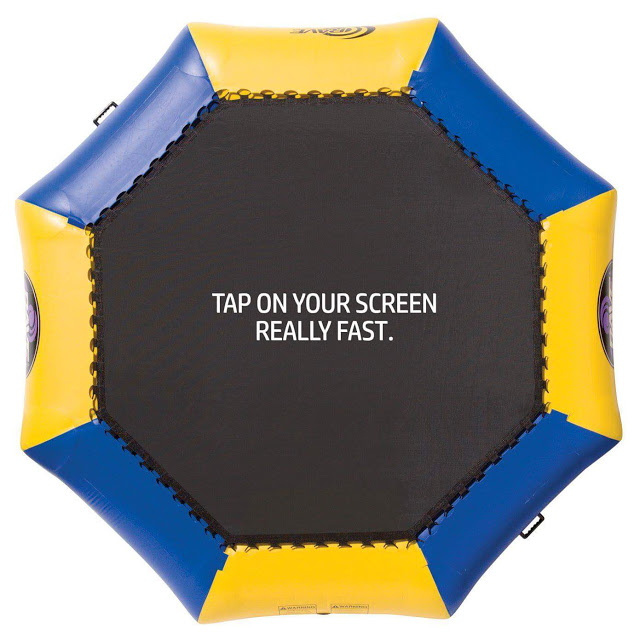 Tap on your screen really fast picture