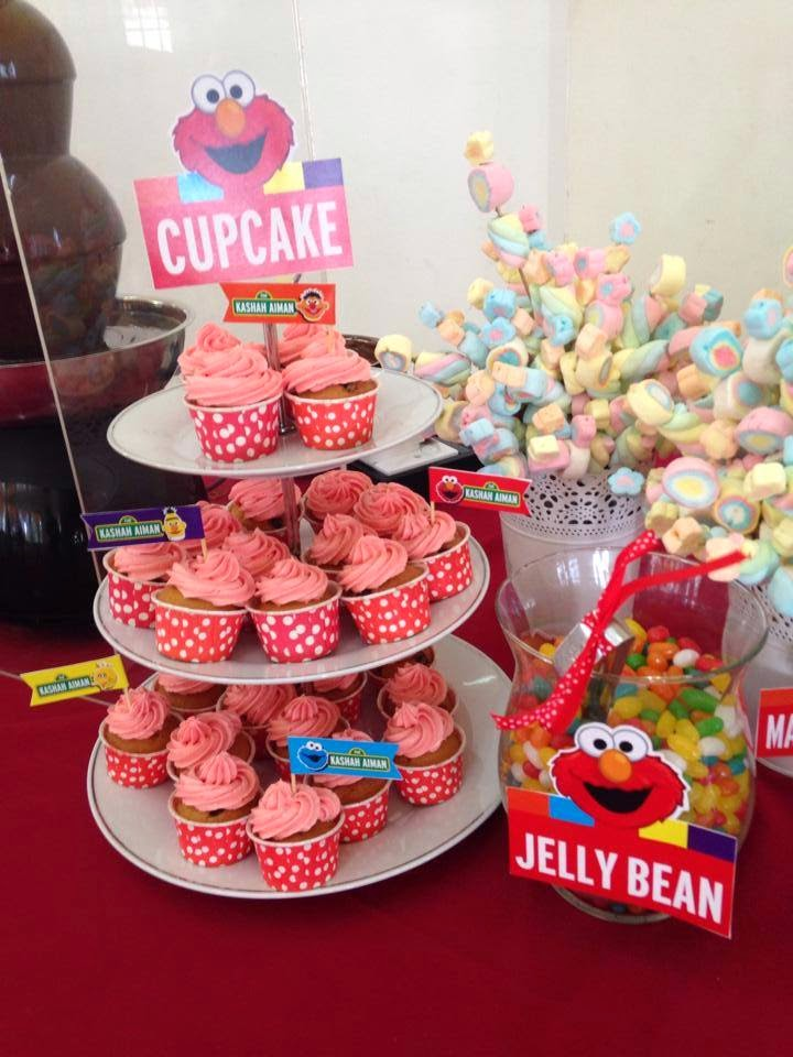 Kashah Aiman 2nd Birthday By Candy Lover Theme Elmo