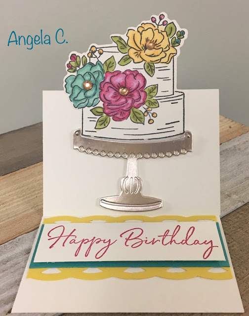 Stampin' Up!, www.stampingwithsusan.com, Happy Birthday To You, Stitched So Sweet, 2020 Sale-A-Bration Catalog, 2020 Mini Catalog,