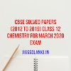 CBSE SOLVED PAPERS (2012 TO 2019) CLASS 12 CHEMISTRY FOR MARCH 2020 EXAM
