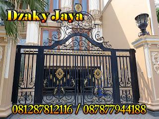 Model Gerbang Pagar Besi Tempa Klasik, Pintu Gerbang Klasij, Pintu Pagar Klasik