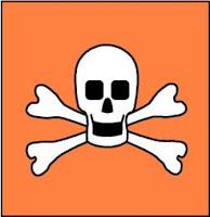 Bahan kimia beracun - simbol bahan kimia