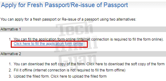 how to make passport online, ecnr passport online kaise banaye