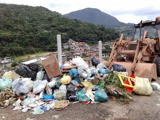 Problema do Lixo é o descarte pela população em local certo