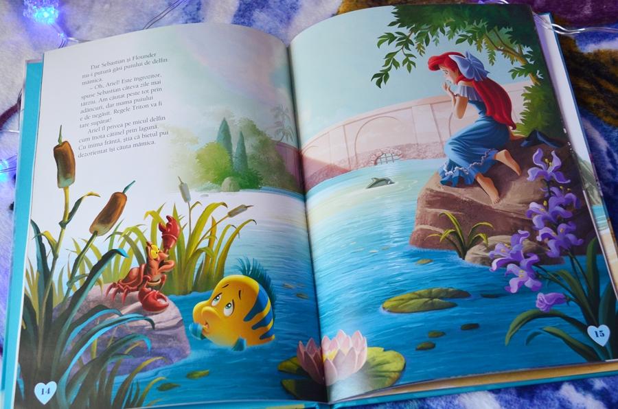carte audiobook povesti copii ariel printesa adancurilor disney