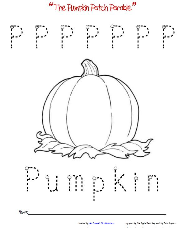 Free Pumpkin Coloring Pages for Kids | 732x604