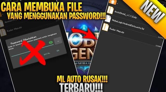 Cara Membuka File ZIP yang di Password di Android