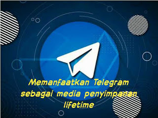 Telegram untuk media penyimpanan