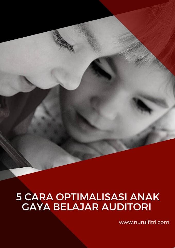 5 Cara Optimalisasi Gaya Belajar Anak Auditori