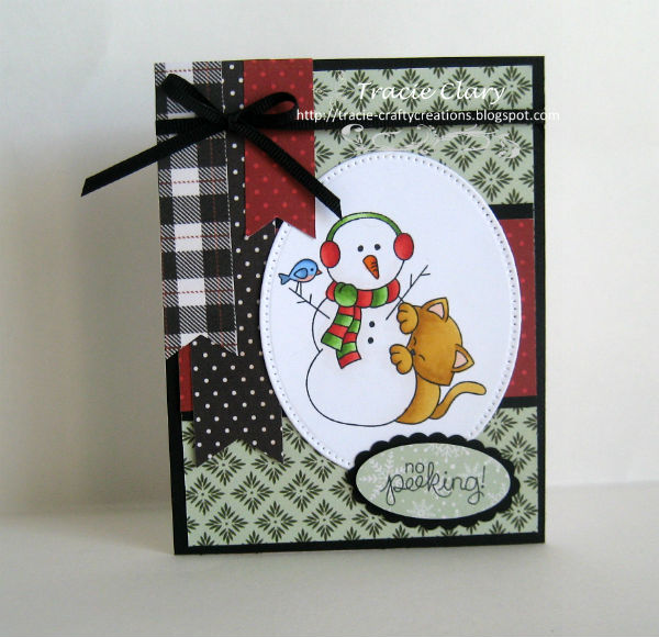 No Peeking by Tracie features Newton's Curious Christmas by Newton's Nook Designs; #newtonsnook