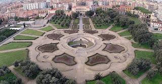 The Villa Vannucchi, with its impressive gardens, is one of the Ville Vesuviane in San Giorgio a Cremano