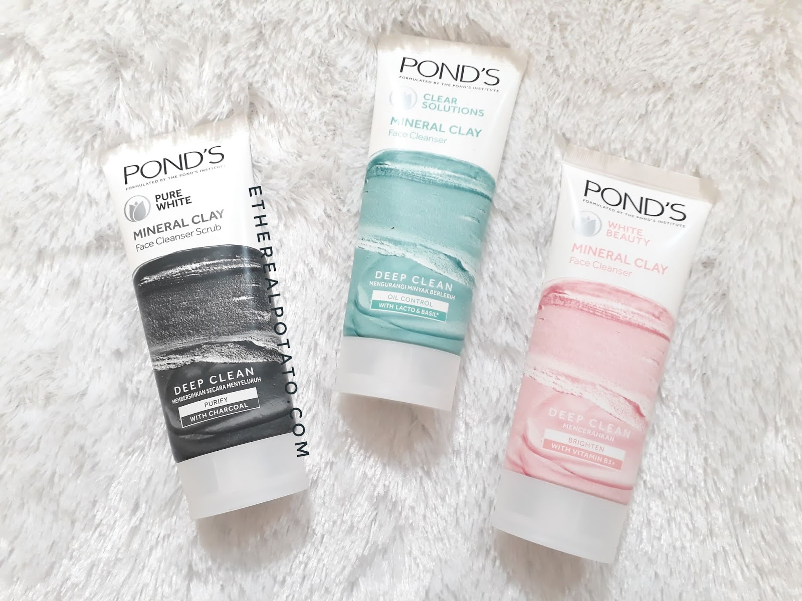 REVIEW] Pond S Mineral Clay Foam Ethereal Potato Ellen Lim