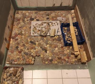 Renovierung Dusche