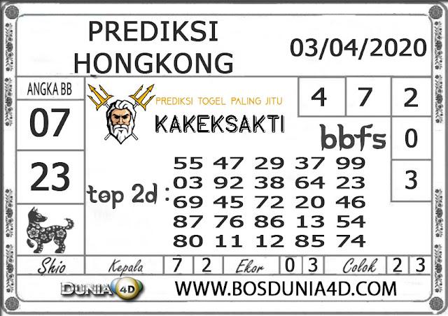 Prediksi Togel HONGKONG DUNIA4D 03 APRIL 2020