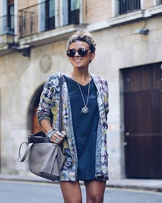 Outfit con kimono para el verano