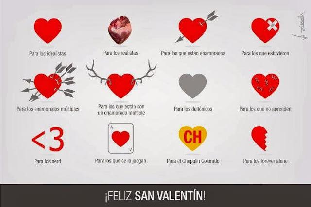 Feliz San Valentin para todos, humor